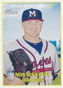 2016 Topps Heritage Minor League Baseball Base Sean Newcomb