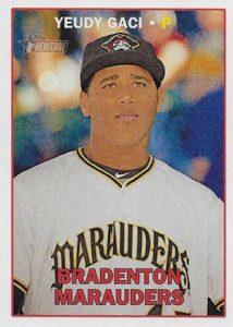 2016 Topps Heritage Minor League Baseball Variations Error Yeudy Garcia