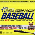 2016 Topps Heritage Minor League Baseball Cards
