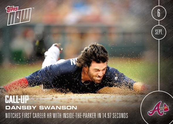 2016 Topps Now Baseball 429 Dansby Swanson