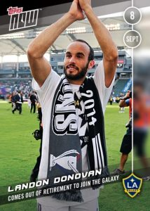 2016 Topps Now MLS Soccer Cards - MLS Cup 20