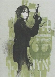 2016 Topps Star Wars Rogue One Mission Briefing Character Foil Jyn