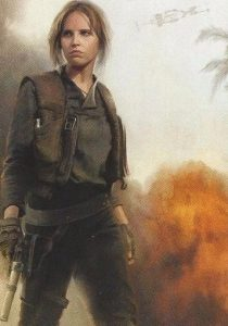 2016 Topps Star Wars Rogue One Mission Briefing Montages Jyn