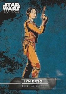 2016 Topps Star Wars Rogue One Mission Briefing Sticker