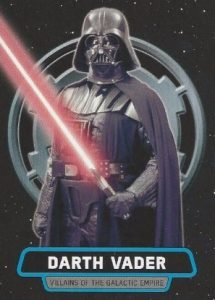 2016 Topps Star Wars Rogue One Mission Briefing Villains of The Galactic Empire Vader