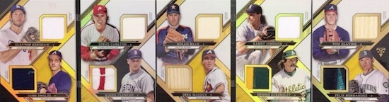 2016 Topps Triple Threads Baseball Cards 28