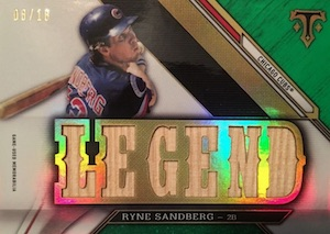 2016 Topps Triple Threads Baseball Legends Relic
