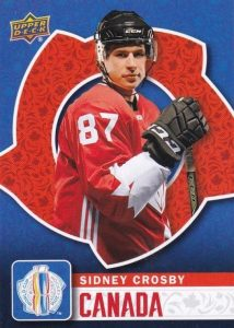 2016 Upper Deck World Cup of Hockey Base Crosby