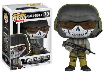 Funko Pop Call of Duty 70 Lt. Simon Ghost Riley GameStop