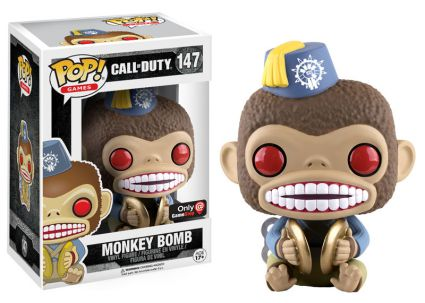 Funko Pop Call of Duty Monkey Bomb GameStop