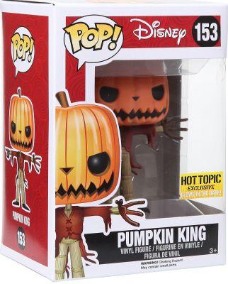 Funko Pop Disney 153 Pumpkin King GITD Hot Topic