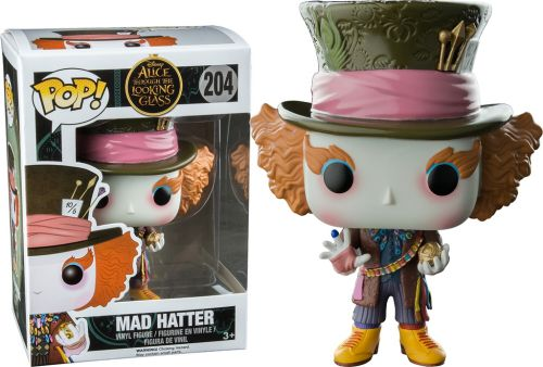 Funko Pop Disney 204 Mad Hatter with Chronosphere Hot Topic