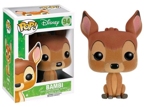 Funko Pop Disney 94 Bambi Flocked Hot Topic