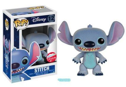 Funko Pop Disney Stitch Flocked