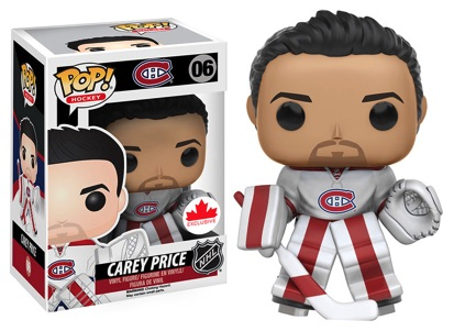 Funko Pop NHL Vinyl Figures 06 Carey Price Away Jersey - Grosnor