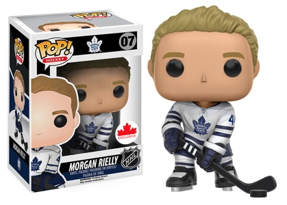 Funko Pop NHL Vinyl Figures 07 Morgan Riley Away Jersey - Grosnor
