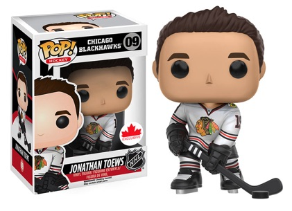 Funko Pop NHL Vinyl Figures 09 Jonathan Toews Away Jersey - Grosnor