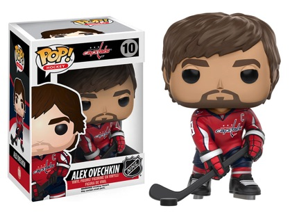 Funko Pop NHL Vinyl Figures 10 Alex Ovechkin