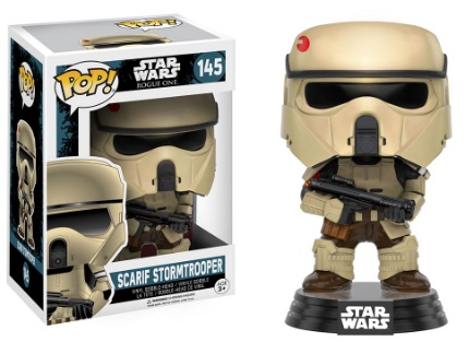 Funko Pop Star Wars Rogue One 145 Scarif Stormtrooper