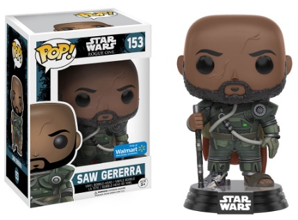 Funko Pop Star Wars Rogue One 153 Saw Gererra - Walmart