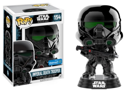 Funko Pop Star Wars Rogue One 154 Imperial Death Trooper (Chrome) - Walmart