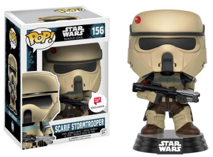 Funko Pop Star Wars Rogue One 156 Scarif Stormtrooper (Striped) - Walgreens