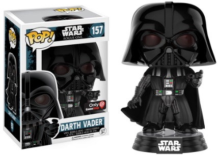 Funko Pop Star Wars Rogue One 157 Darth Vader (Force Grip) - GameStop