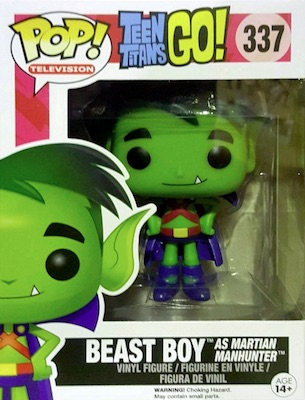 Funko Pop Teen Titans Go 337 Beast Boy as Martian Manhunter
