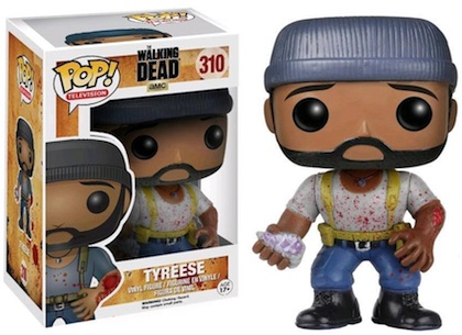 Funko Pop Walking Dead 310 Tyrese Bloody Hot Topic