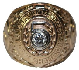 Steiner Sports Fall Classic Auction Yogi Berra 1953 World Series Ring