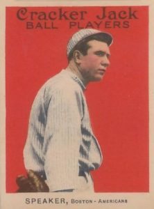 Top 10 Tris Speaker Baseball Cards 5