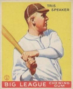 Top 10 Tris Speaker Baseball Cards 9