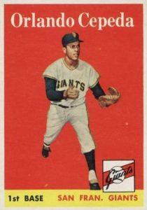 Top 10 Orlando Cepeda Baseball Cards 10