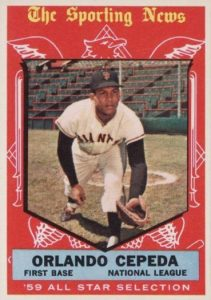 Top 10 Orlando Cepeda Baseball Cards 9