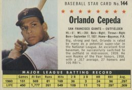 Top 10 Orlando Cepeda Baseball Cards 3