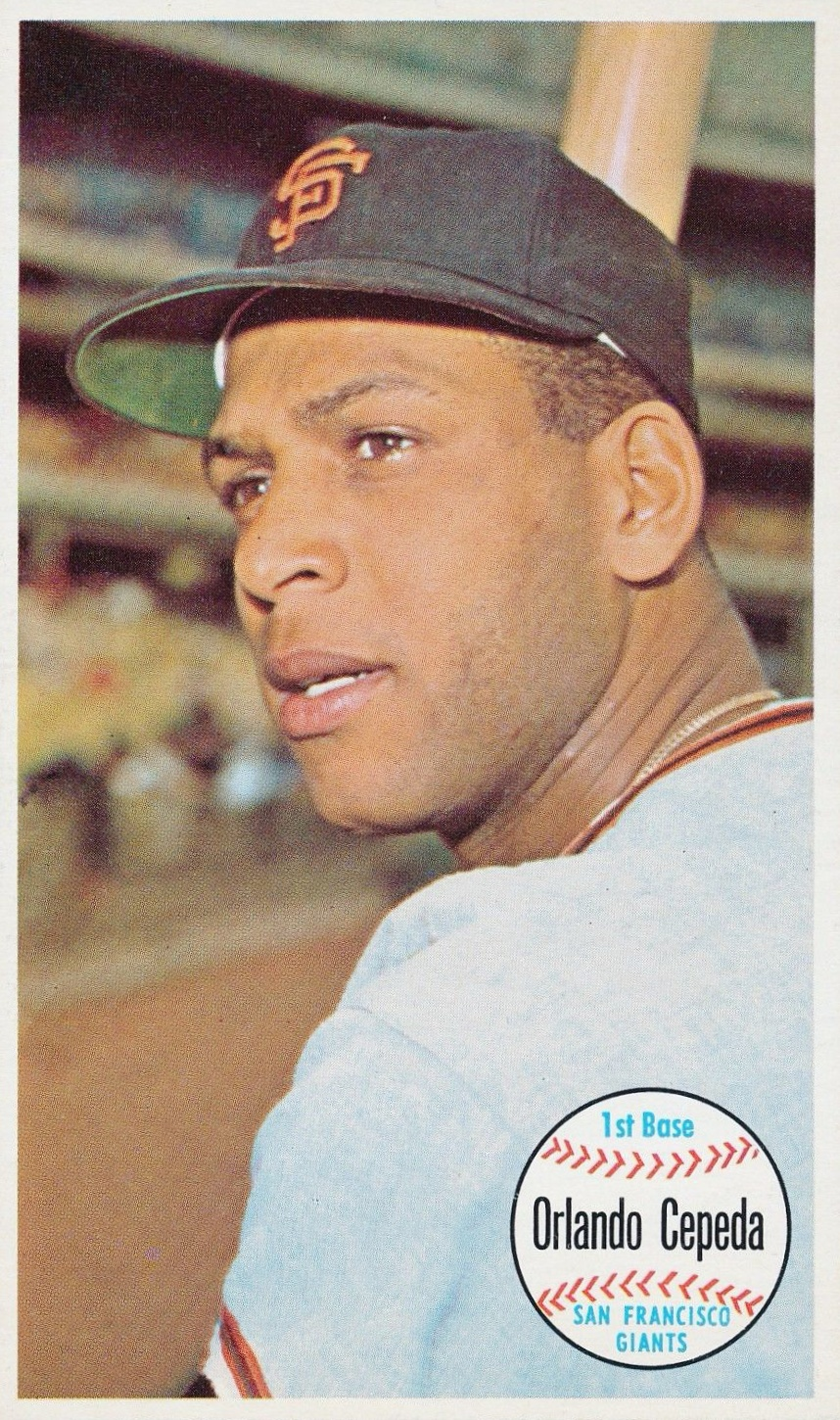 Top 10 Orlando Cepeda Baseball Cards 1