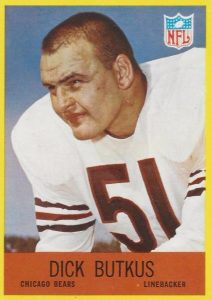 Top 10 Dick Butkus Football Cards 9