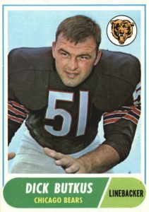 Top 10 Dick Butkus Football Cards 8
