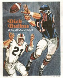 Top 10 Dick Butkus Football Cards 1
