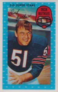 Top 10 Dick Butkus Football Cards 5