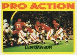 Top 10 Len Dawson Football Cards 1