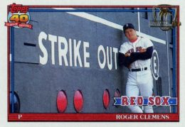 Top 10 Roger Clemens Baseball Cards 4