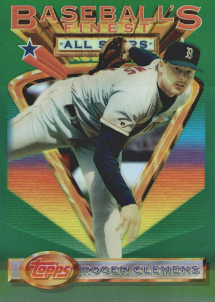 Top 10 Roger Clemens Baseball Cards 3