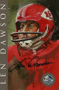 Top 10 Len Dawson Football Cards 7