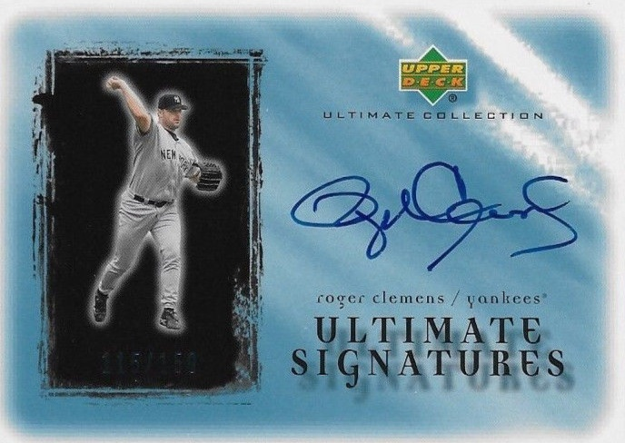 Top 10 Roger Clemens Baseball Cards 5