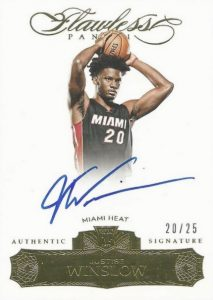 2015-16 Panini Flawless Basketball Rookie Autographs