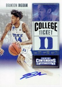 2016-17 Panini Contenders Draft Picks Basketball Cards - Checklist Added 26