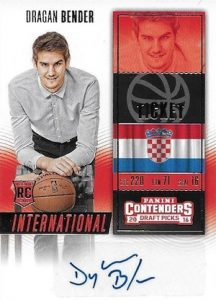 2016-17 Panini Contenders Draft Picks Basketball Cards - Checklist Added 27