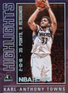 2016-17 Panini NBA Hoops Basketball Cards 30
