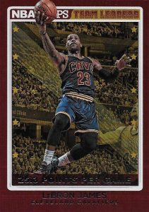 2016-17 Panini NBA Hoops Basketball Cards 36